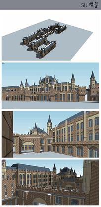 主教学楼及办公楼