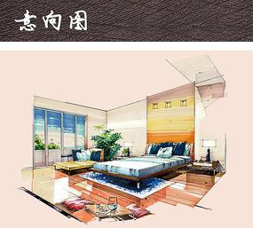 主卧室内设计方案