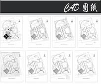 老年公园CAD平面图