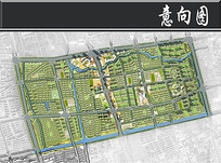 上海北蔡综合旧片区规划平面图