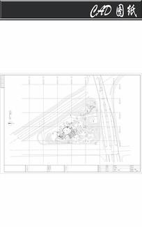 苏州某绿地公园景观设计平面图