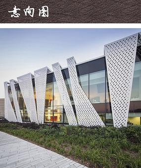现代建筑立面装饰