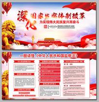 一图读懂中华人民共和国监察法展板