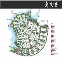 重庆融科蔚城地块彩平图