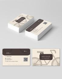 自行车社团名片
