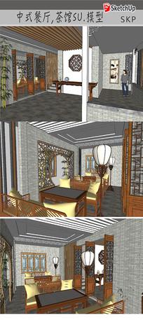 传统中式餐厅装饰设计