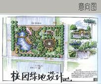 教学区绿化规划设计