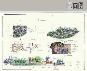 街旁小游园方案设计