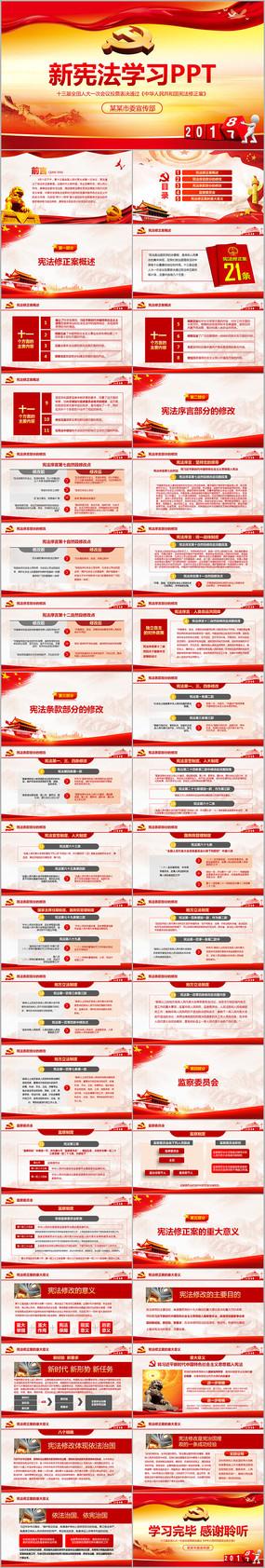 中华人民共和国宪法修正案精讲PPT