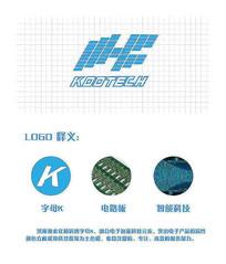 电子logo设计 AI