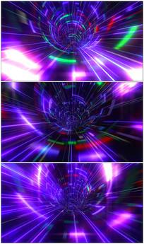 3d时空隧道穿梭视频素材 mov