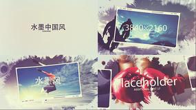 4K水墨宣传片AE模版