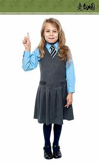穿校服的女孩ps素材