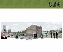 公园景观拼贴效果图jpg