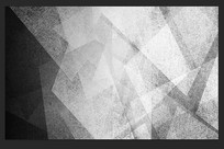 黑白几何抽象线条艺术背景墙