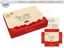 精美中国风保暖内衣包装礼盒 CDR