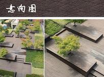 木平台树池座椅 JPG