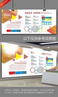 企业文化墙公司介绍宣传展板