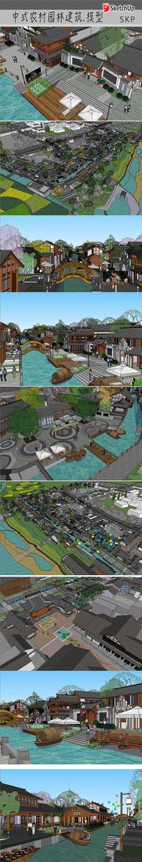 乡村古镇建筑设计
