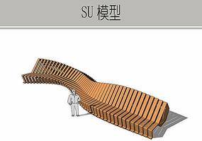 异形坐凳模型