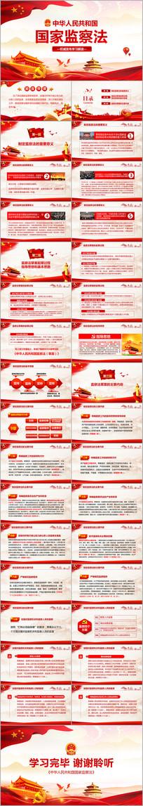 中华人民共和国监察法解读党课PPT