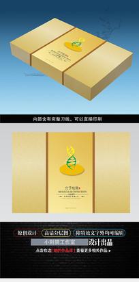 健康检测保健品包装盒