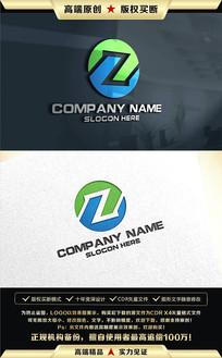 Z字母创意LOGO标志设计