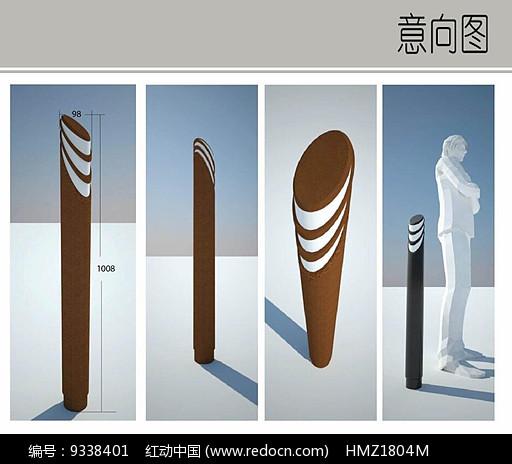矮柱灯设计图片