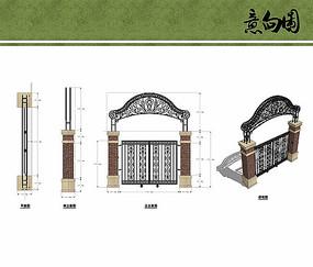 别墅围墙设计
