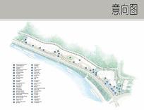 滨海公园景观彩平