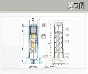 灯塔设计详图
