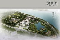 佛教文化主题公园规划效果图