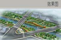 河流沿岸景观绿化设计