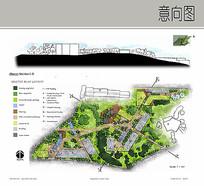 建筑景观平面排版