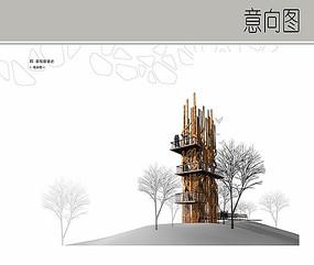 景观塔设计