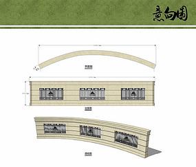 欧式景墙设计