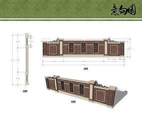 欧式围墙设计
