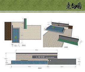 入口水景设计