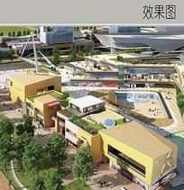 商业街景观效果图 JPG