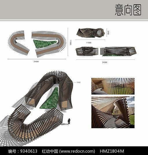 生态艺术展廊设计图片