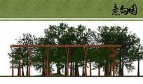 树顶人行栈道设计