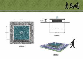 水景喷泉设计方案
