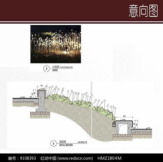 特色地灯设计图片