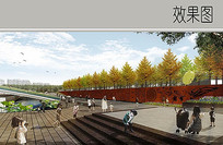特色中式景墙设计 JPG