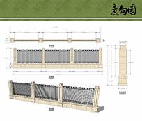 小区围墙设计 JPG