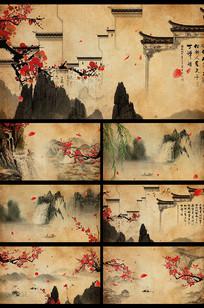 中国风水墨视频