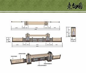主入口门廊设计