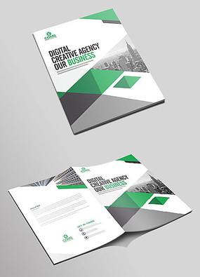 高端大气企业画册封面设计