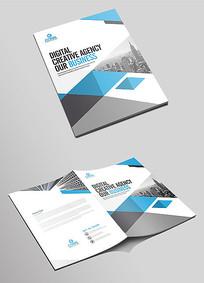 高端企业文化宣传画册封面设计