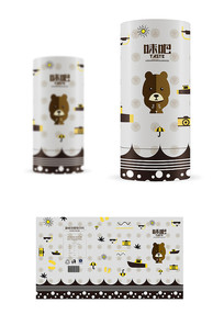 迷你熊零食包裝設計